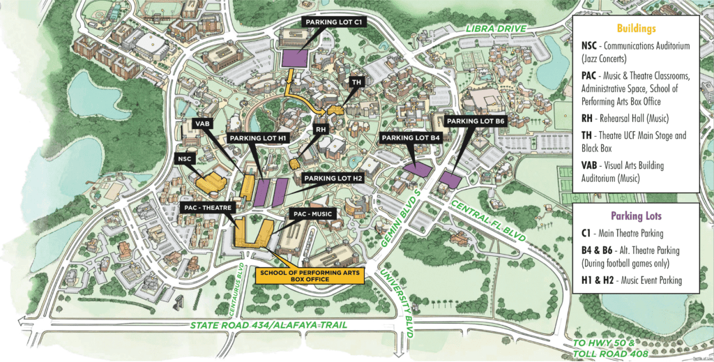 Ucf Cocoa Campus Map.University Of Central Florida Oviedo Winter Springs Regional